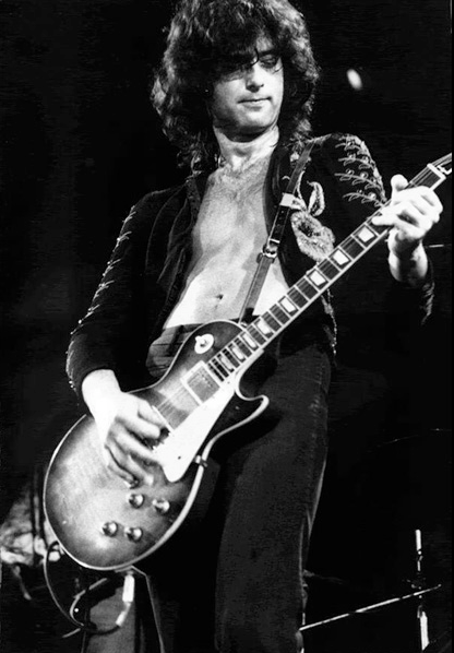 Jimmy Page before